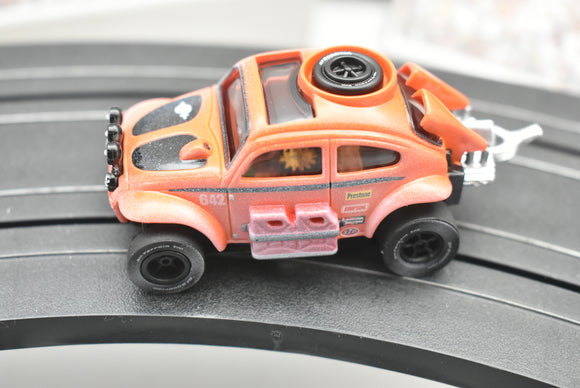 Baja Bug VW Beetle Orange(Dirt Effect) | SC011 | X-traction Ultra-G | Auto World-Toys & Hobbies:Slot Cars:HO Scale:1970-Now-ProTinkerToys.com