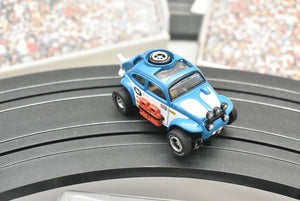 Baja Bug VW Beetle Blue(Dirt Effect) | SC012 | X-traction Ultra-G | Auto World-Toys & Hobbies:Slot Cars:HO Scale:1970-Now-ProTinkerToys.com