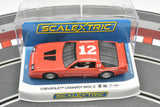 Chevrolet Camaro IROC-Z No. 12 | Red | C4073 | Scalextric | DPR Ready-Toys & Hobbies:Slot Cars:1/32 Scale:1970-Now-ProTinkerToys.com