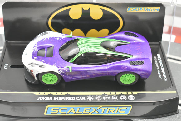 Joker Inspired Car | C4142T | Scalextric-Toys & Hobbies:Slot Cars:1/32 Scale:1970-Now-ProTinkerToys.com