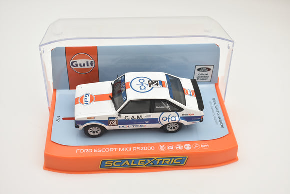 FORD ESCORT MK2 RS2000 - GULF EDITION | C4150 | Scalextric|1/32 Slot Car