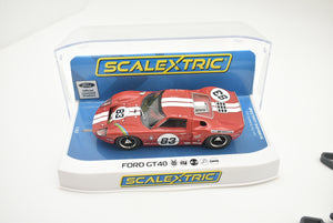 Ford GT40 - Red No.83 - | C4152 | Scalextric-SCALEXTRIC-ProTinkerToys