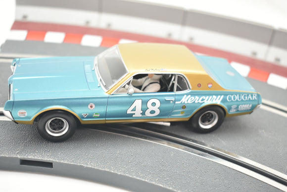 MERCURY COUGAR - NO. 48- | C4160 | Scalextric|1/32 Slot Car-Toys & Hobbies:Slot Cars:1/32 Scale:1970-Now-ProTinkerToys.com