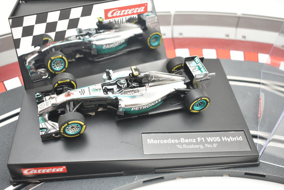 1/32 Carrera Slot Car| 20027494| Evolution Mercedes-Benz F-1 WO5 Hybrid