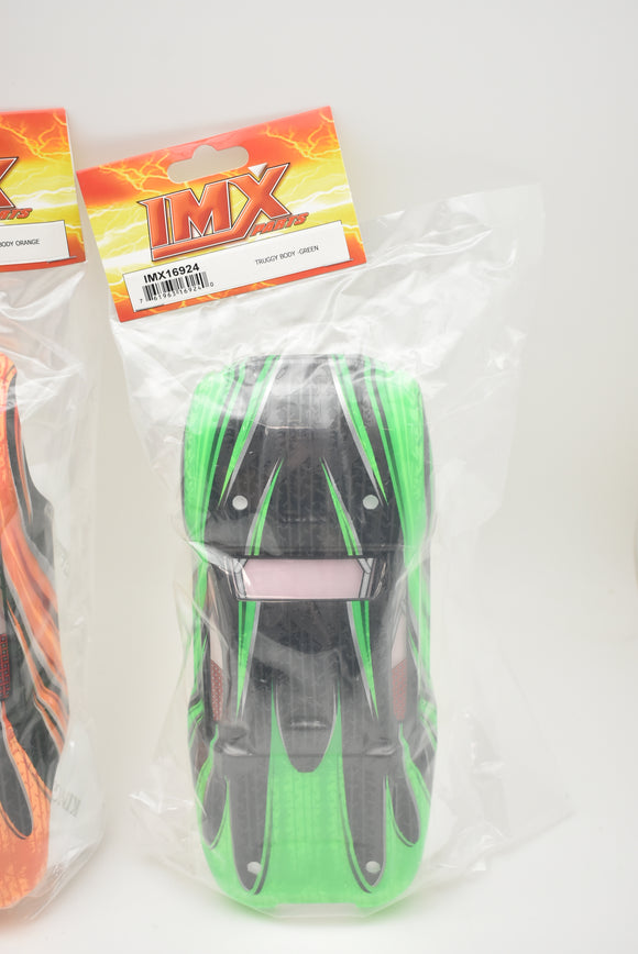 Truggy Green Body | IMX16924 | Ninja Monster Truck-IMEX-ProTinkerToys