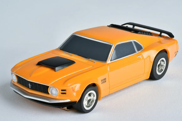 Mustang Boss 429 – Orange – | 21050 | AFX/Racemasters-Toys & Hobbies:Slot Cars:HO Scale:1970-Now-ProTinkerToys.com
