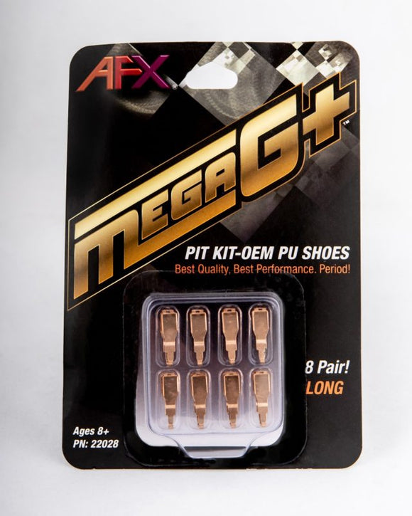 Mega G+ Pit Kit PU Shoes – Long | 22028 | AFX/Racemasters-AFX/RACEMASTER-ProTinkerToys