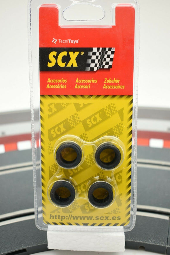 SCX 87670 1/32 ACCESSORIES 1/PACK OF 4 NEUMATICOS TIPO 1 TIRES TYPE 19.3X12.2MM-Toys & Hobbies:Slot Cars:1/32 Scale:1970-Now-ProTinkerToys.com