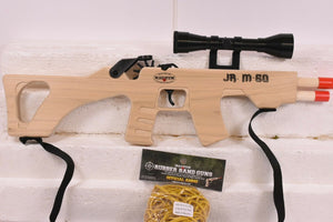 Jr. M60-Machine Gun Combat Rifle w/ Scope & Sling + Ammo-Toys & Hobbies:Classic Toys:Other Classic Toys-ProTinkerToys.com