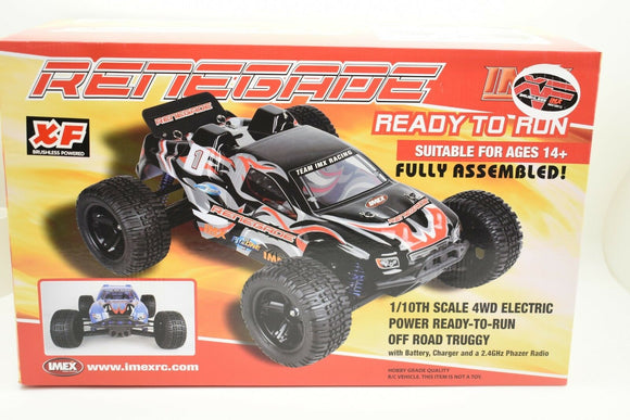 Renegade RC Truggy XF BRUSHLESS | 18012 | IMEX-Toys & Hobbies:Radio Control & Control Line:RC Model Vehicles & Kits:Cars, Trucks & Motorcycles-ProTinkerToys.com