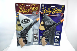 Civil War 2 Pack – Billy Yank & Johnny Red Pistol Revolver & Holster-Toys & Hobbies:Vintage & Antique Toys:Cap Guns:Diecast-ProTinkerToys.com