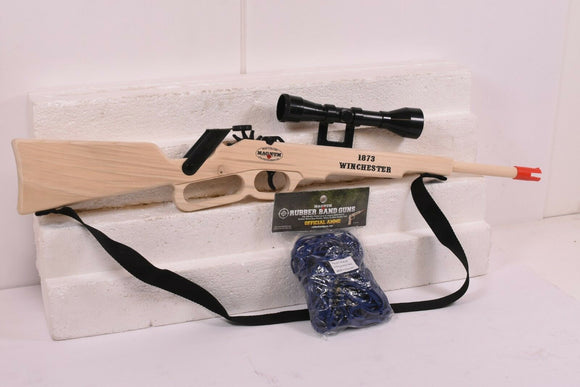 MAGNUM RUBBER BAND GUNS WINCHESTER 1873 RIFE W/ SCOPE GL21873SSS PLUS AMMO-Toys & Hobbies:Classic Toys:Other Classic Toys-ProTinkerToys.com