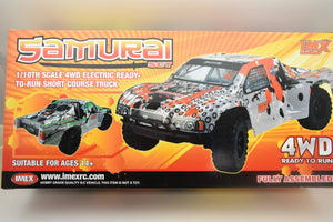 Samurai RC Short Course Truck (SCT) | 18030 | IMEX-Toys & Hobbies:Radio Control & Control Line:RC Model Vehicles & Kits:Cars, Trucks & Motorcycles-ProTinkerToys.com