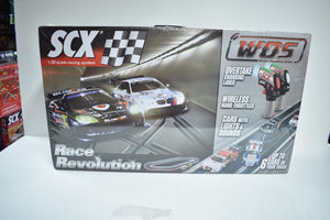 SCX WOS W10134X5U0 1/32 SCALE SLOT CAR RACE REVOLUTION BASIC DIGITAL SET 2/CAR-SCX-ProTinkerToys