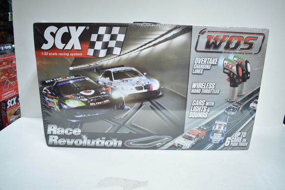 SCX WOS W10134X5U0 1/32 SCALE SLOT CAR RACE REVOLUTION BASIC DIGITAL SET 2/CAR-Toys & Hobbies:Slot Cars:1/32 Scale:1970-Now-ProTinkerToys.com