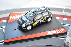 "NINCO   50368 1/32 SLOT CAR RENAULT CLIO SUPER 1600 ""BATTERY  PLAYSTATION 2-Ninco-ProTinkerToys"