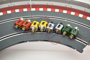 MEGA MEGA ASSORTMENT OF MABUCHI/ COX MOTORS 8 MOTORS-Toys & Hobbies:Slot Cars:1/24 Scale:Pre-1970-ProTinkerToys.com