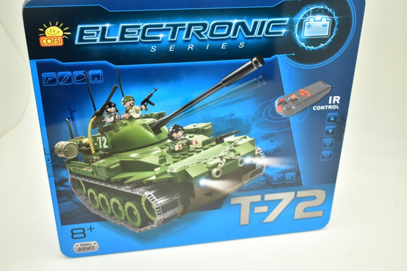 COBI- ELECTRONIC SERIES , RUSSIAN T-72 (I/R) 21900 IR CONTROL, TANK MOTORIZED-Toys & Hobbies:Building Toys:Building Toy Pieces & Accessories-ProTinkerToys.com