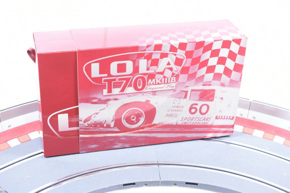 LOLA T70 MKIIIB Chequered Flag | Special | Fly Car-Toys & Hobbies:Slot Cars:1/32 Scale:1970-Now-ProTinkerToys.com