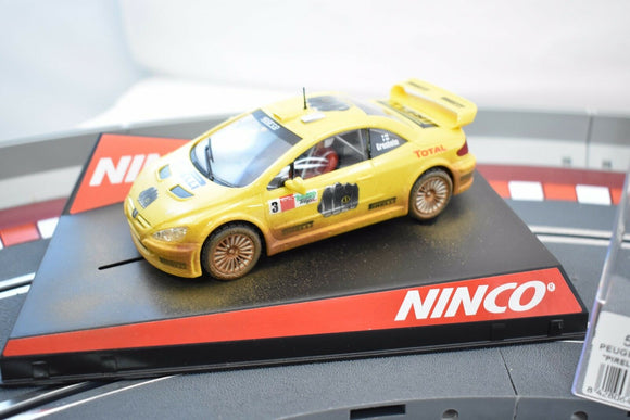 NINCO 50367 1/32 SLOT CAR PEUFEOT 307 WRC