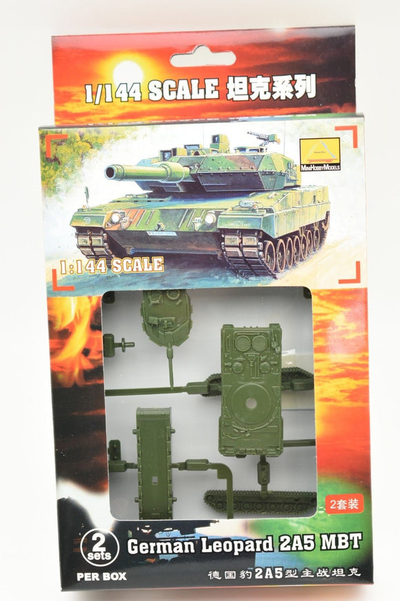German Leopard 2A5 MBT (2 Per Box) Item #82106-Toys & Hobbies:Models & Kits:Military:Armor-ProTinkerToys.com
