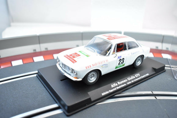 FLY CAR MODEL SLOT CAR 1/EA 96095 ALFA ROMEO GIULIA GTV ED. ESPECIAL MADRIDIARO-Toys & Hobbies:Slot Cars:1/32 Scale:1970-Now-ProTinkerToys.com