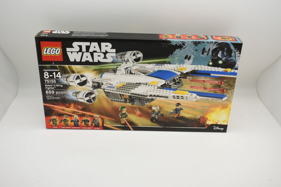Lego Star Wars Rebel U-Wing Fighter 75155 Brand New Factory Sealed !!!-Toys & Hobbies:Building Toys:LEGO Building Toys:LEGO Complete Sets & Packs-ProTinkerToys.com