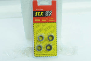 SCX 88370 1/32 ACCESSORIES 1/PACK  OF 4 TIRES TYPE 7 (18,3X 9,8MM ) SLICK-SCX-ProTinkerToys