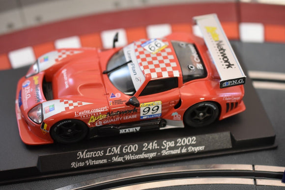 Marcos LM 600 24h. Spa 2002 #88037 - Fly Car-Toys & Hobbies:Slot Cars:1/32 Scale:1970-Now-ProTinkerToys.com
