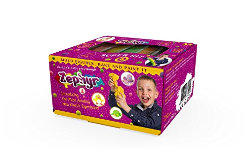 Zephyr Super Kit 6 Color – PlayDoh/Kinetic-Toys & Hobbies:Preschool Toys & Pretend Play:Play-Doh, Modeling Clay-ProTinkerToys.com
