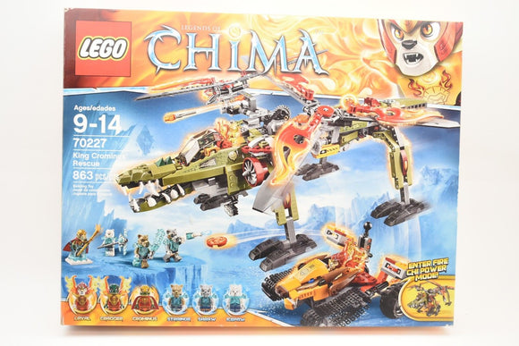 LEGO Legends of Chima King Crominus Rescue Building Kit 70227 SEALED NEW IN BOX-Toys & Hobbies:Building Toys:LEGO Building Toys:LEGO Complete Sets & Packs-ProTinkerToys.com