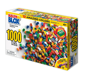 Build'n Blox 1000 Pcs Set-Toys & Hobbies:Building Toys:Building Toy Pieces & Accessories-ProTinkerToys.com