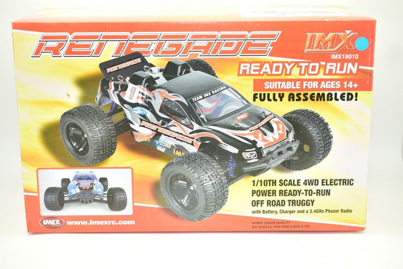 Renegade RC Truggy Brushed Motor | 18010 | IMEX-Toys & Hobbies:Radio Control & Control Line:RC Model Vehicles & Kits:Cars, Trucks & Motorcycles-ProTinkerToys.com