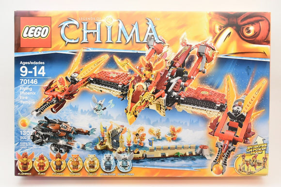 NIB LEGO Legends CHIMA Flying Phoenix Fire Temple Building Set # 70146 Retired-Toys & Hobbies:Building Toys:LEGO Building Toys:LEGO Complete Sets & Packs-ProTinkerToys.com