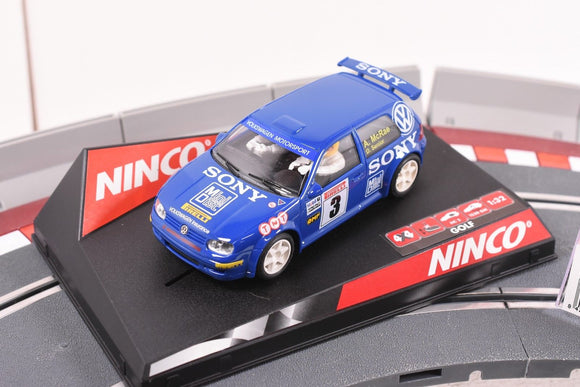50228 NINCO 1/32 SLOT CAR VW GOLF
