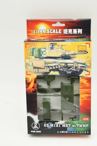USA M1A1 MBT w/ TWMP (2 Per Box) Item #82115-Toys & Hobbies:Models & Kits:Military:Armor-ProTinkerToys.com