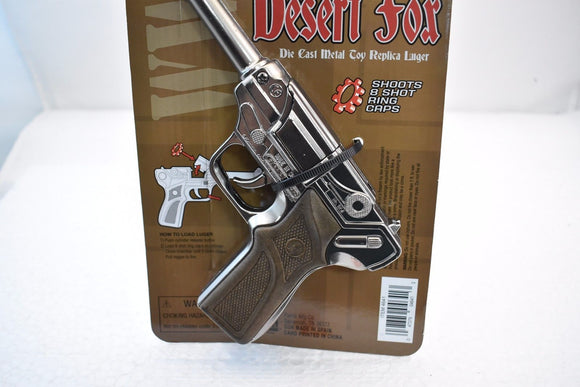 Desert Fox Die Cast Metal Toy Gun Lugar Replica-Parris Manufacturing-ProTinkerToys