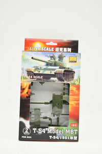 T-54 Model MBT 1951 (2 Per Box) Item #82101-Minihobby-ProTinkerToys