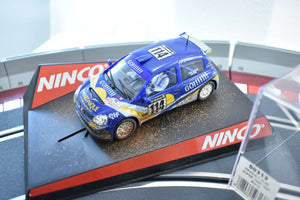 "NINCO 50313 1/32 SLOT CAR RENAULT CLIO SUPER 1600 ""GO"" BARRO DIRT EFFECT-Toys & Hobbies:Slot Cars:1/32 Scale:1970-Now-ProTinkerToys.com"