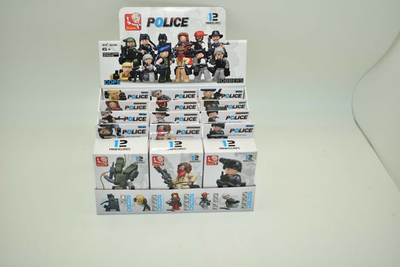 SLUBAN POLICE LINE ( ROBBERS/COPS) 12/ MINIFIGURES COMPLETE BOX M38 B0586 12/EA-Toys & Hobbies:Building Toys:Building Toy Sets & Packs-ProTinkerToys.com