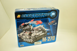 COBI- ELECTRONIC SERIES, M-270ROCKET LAUNCHER (I/R) 21903, TANK MOTORIZED-Toys & Hobbies:Building Toys:Building Toy Pieces & Accessories-ProTinkerToys.com