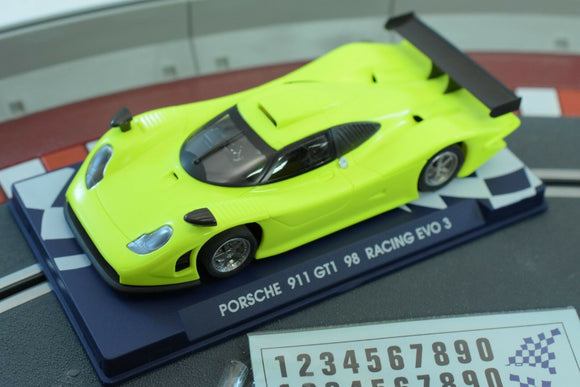 Porsche 911 GT1-98 Racing Evo 3 #07044 - Fly Car-Toys & Hobbies:Slot Cars:1/32 Scale:1970-Now-ProTinkerToys.com