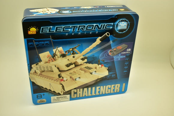 COBI- ELECTRONIC SERIES , CHALLENGER I (I/R) 21901 IR CONTROL, TANKS MOTORIZED-Toys & Hobbies:Building Toys:Building Toy Pieces & Accessories-ProTinkerToys.com