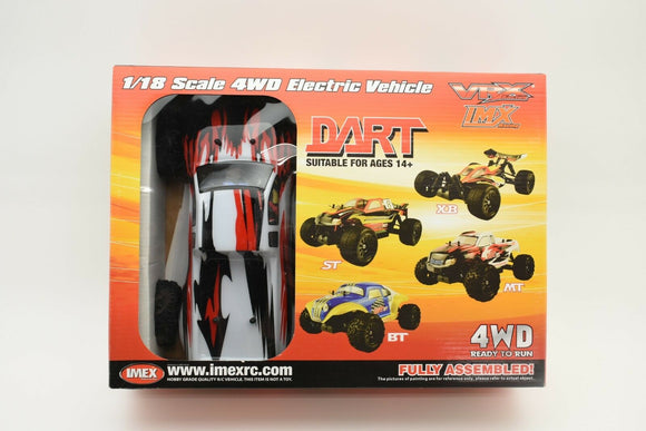 Dart MT – Brushless RTR (WHITE)-IMEX-ProTinkerToys