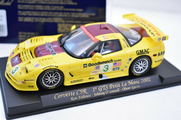 Corvette C5R 1° GTS Petit Le Mans 2002 #88025 - Fly Car-Toys & Hobbies:Slot Cars:1/32 Scale:1970-Now-ProTinkerToys.com