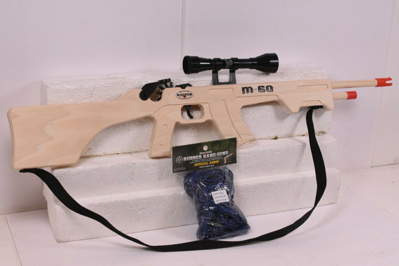 M-60 Combat Rifle w/ Scope & Sling + Ammo-Toys & Hobbies:Classic Toys:Other Classic Toys-ProTinkerToys.com