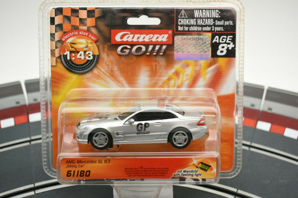 61180 CARRERA GO 1:43 SLOT CAR AMG MERCEDES SL 63