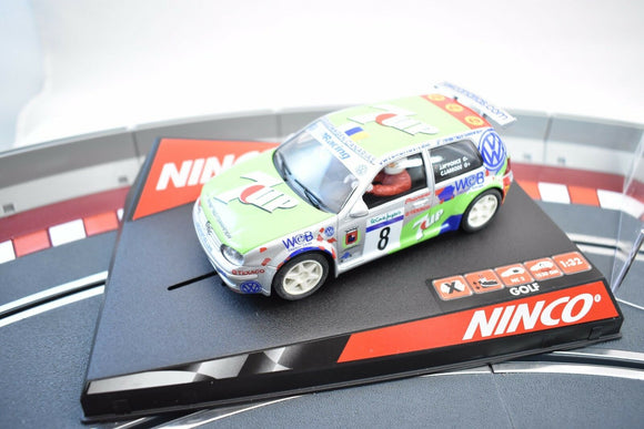 NINCO SLOT CAR 1/32 50274 VW GOLF