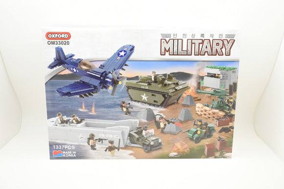 Oxford Block OM33020 Word War 2 / Korean War Landing Operation Set-Toys & Hobbies:Building Toys:Building Toy Sets & Packs-ProTinkerToys.com