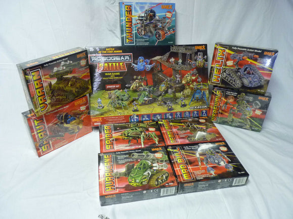 Mega Lot – #6002-6010 Robogear-Toys & Hobbies:Games:Miniatures, War Games:Other Miniatures & War Games-ProTinkerToys.com